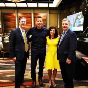 Kirk Walden, Sean Duffy, Rachel Duffy, and Jor-El Godsey