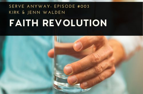 Faith Revolution, man holding a glass of water, 7 Tips for Avoiding Burnout