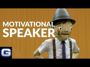 Geico commercial, Pinocchio, Faith Revolution Podcast