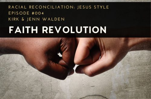 Racial Reconciliation: Jesus Style, Black and White Fist Pump